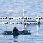 Göl ile ilgili Sözler ve Mesajlar